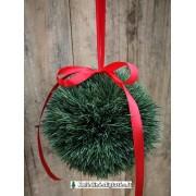 Kalėdinė dekoracija - burbulas